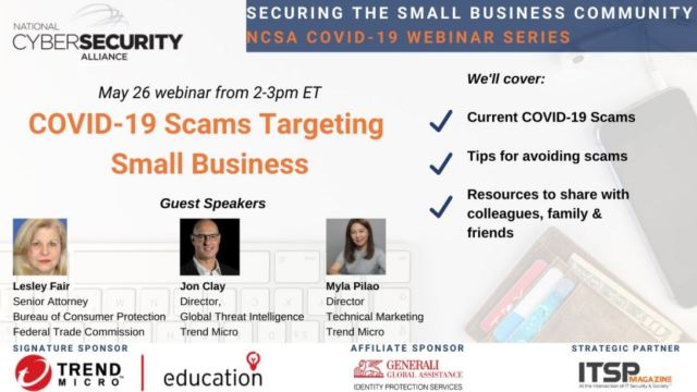 Scams targeting Small Business Webinar